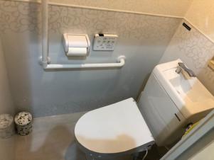 ホーローパネルで、お手入れ簡単トイレに!|リフォームの施工事例|マンション