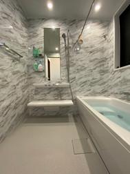 楽湯付きユニットバスにリフォームで、快適なバスルームへ|リフォームの施工事例|浴室・バス