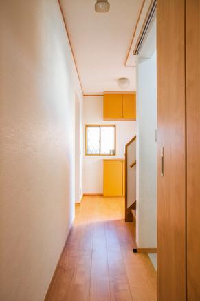 バリアフリーで各部屋につながる廊下へリフォーム|リフォームの施工事例|廊下