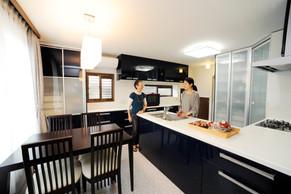 軽量鉄骨住宅を二世帯でのんびりと過ごせる住まいに。|施工事例|神奈川アメニックス株式会社