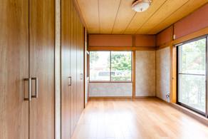 和室から無垢フローリングの洋室に変わりました。|リフォームの施工事例|洋室