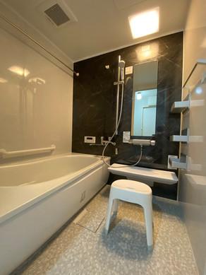お掃除もらくらく、快適なユニットバスへリフォーム|浴室・バス
