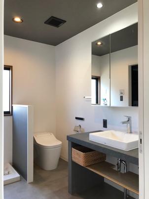 ホテルライクなサニタリールームに大変身!|リフォームの施工事例|戸建て
