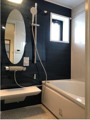 浴室暖房付きで、冬でも暖かいお風呂になりました。|リフォームの施工事例|浴室・バス