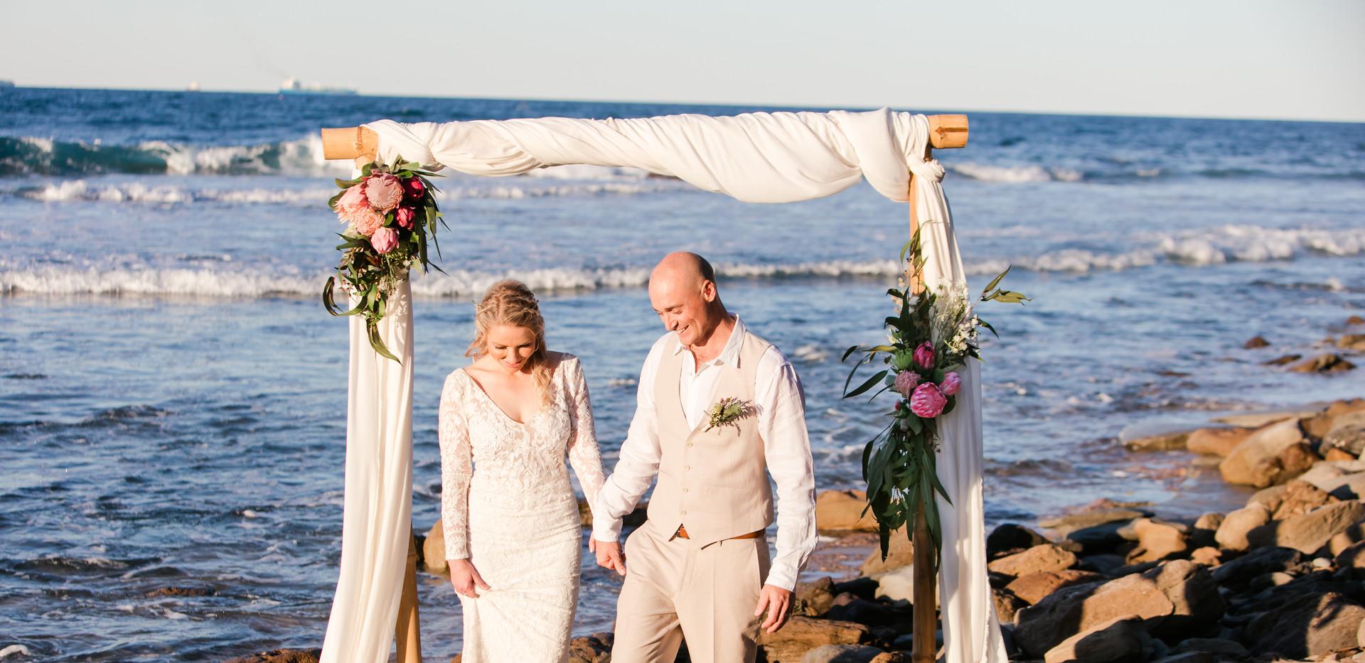 Wedding arbour sunshine coast