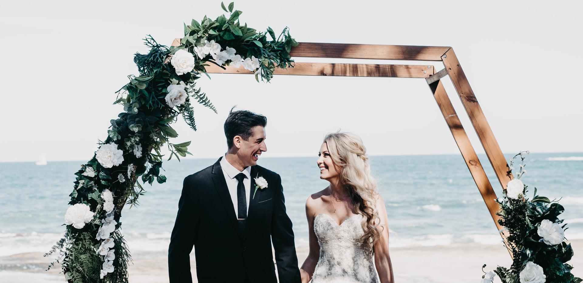 Jye and Tia wedding ceremony