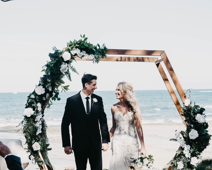 wedding ceremony hire and styling sunshine coast