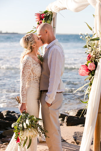 Elopement and small wedding packages sunshine coast queensland