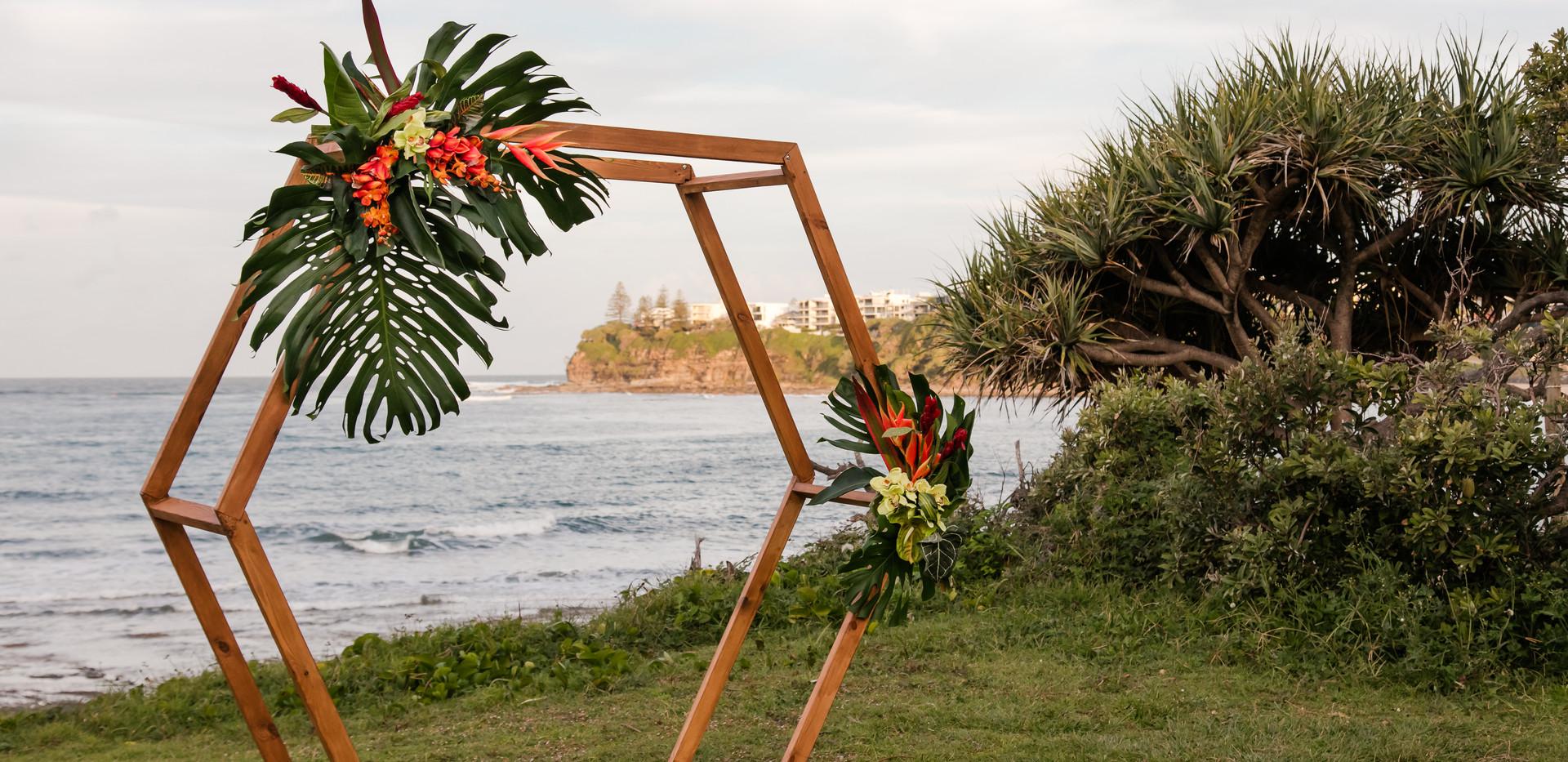 wedding ceremony arbour