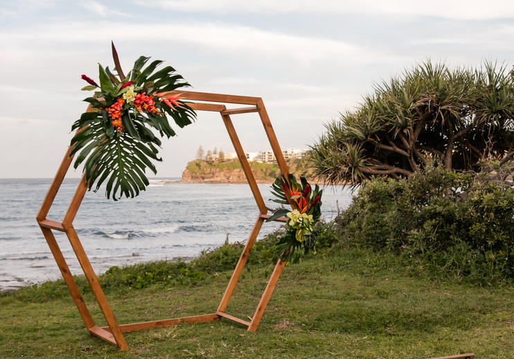 wedding ceremony arbour