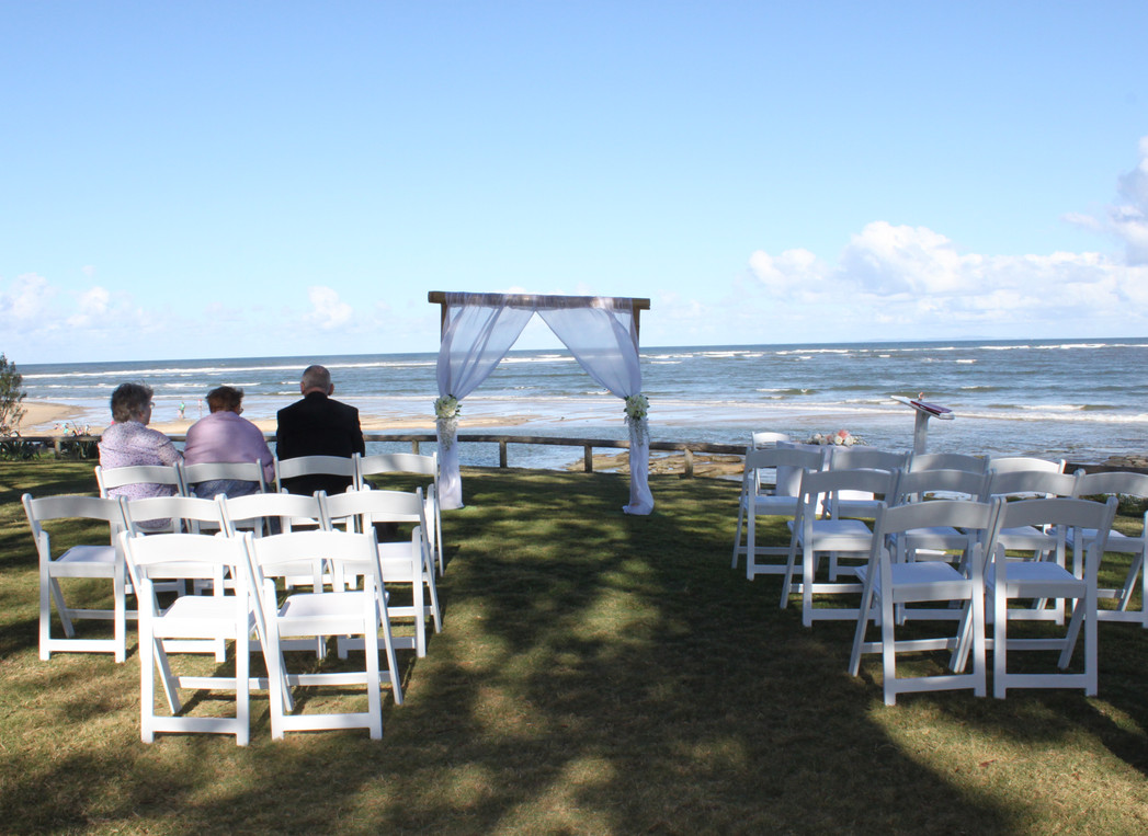 2 post wedding arbour, wedding ceremony decorations sunshine coast, queensland australia