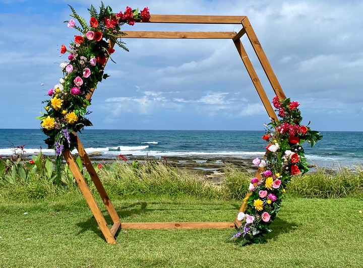 wedding ceremony arbour packages