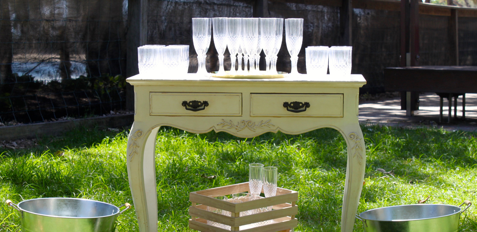 wedding drinks station sunshine coast