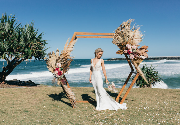 Boho wedding sunshine coast