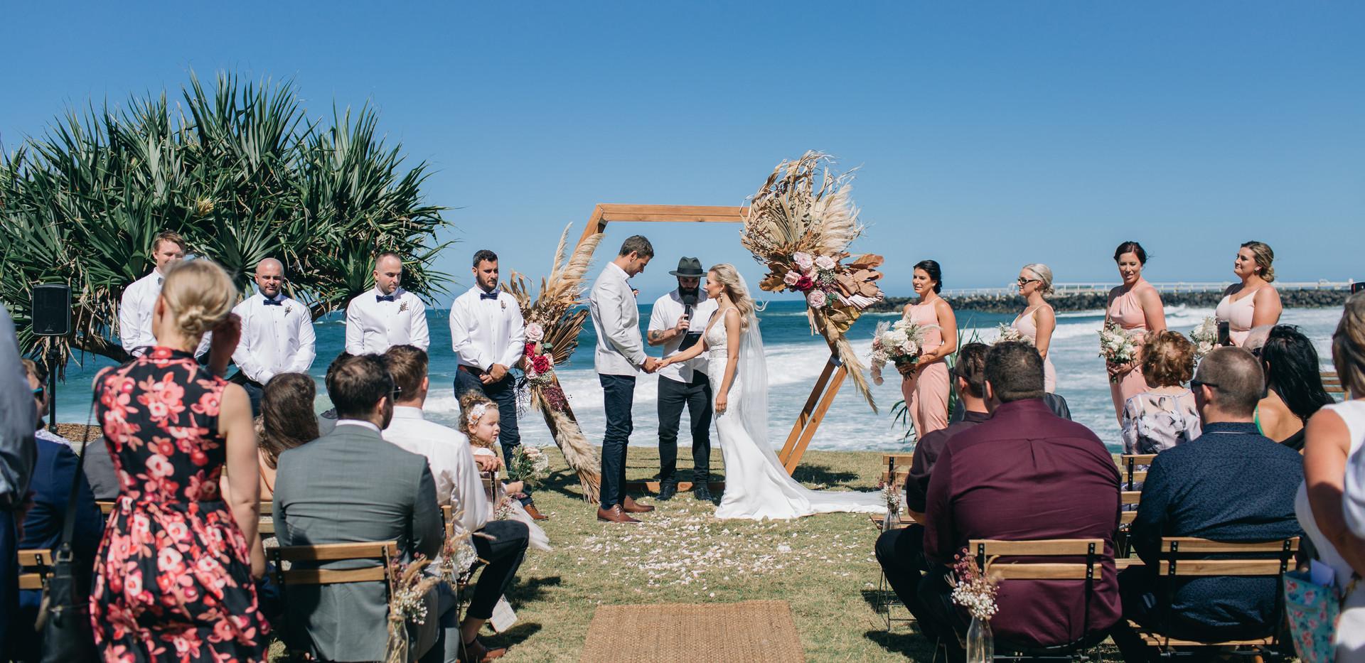 Erin + Travis Tweed Heads wedding