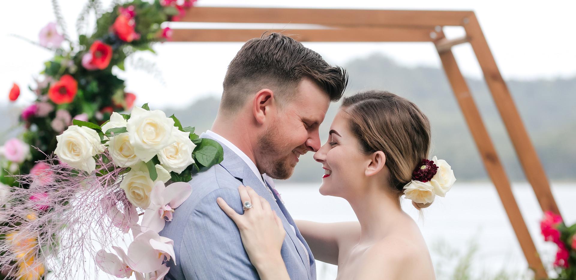 Wedding ceremony Sunshine Coast