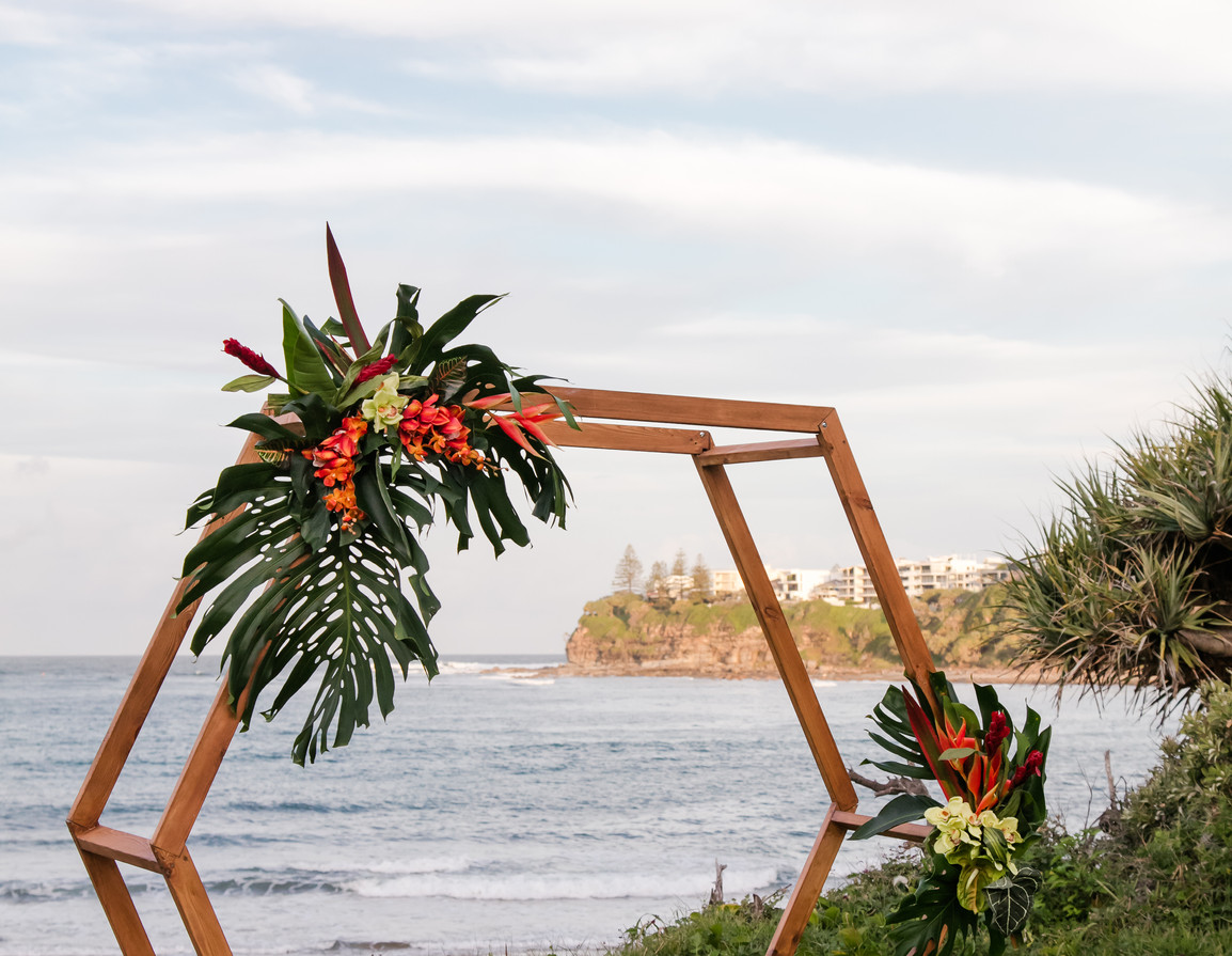 Troppo wedding arbour package