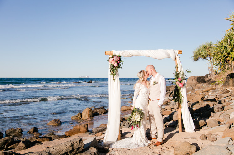 Wedding ceremony arbour for hire sunshine coast