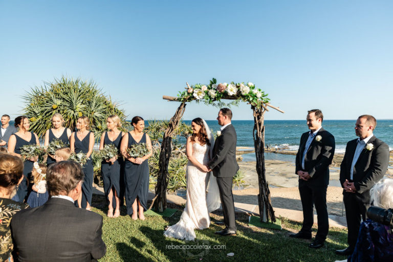 Driftwood arbour for wedding