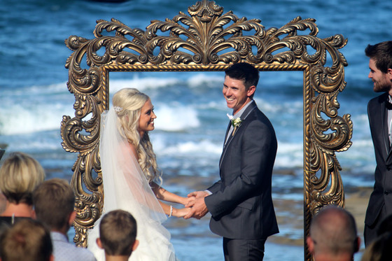 Another stunning Shelly Beach wedding (definitely a favourite spot of ours!)