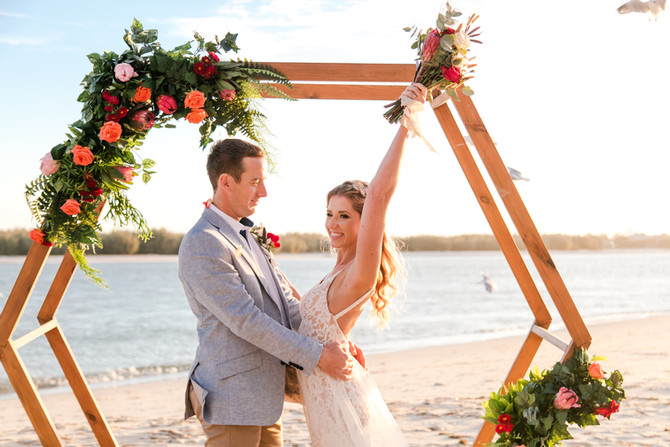 Tiny weddings are proving kinder on the planet