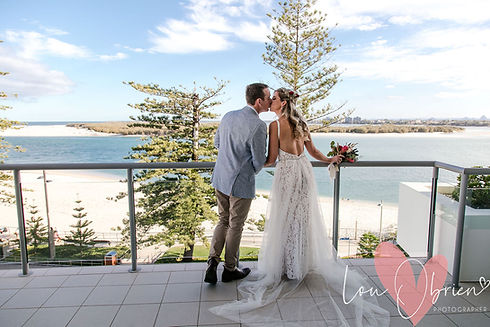 Small weddings and elopements sunshine coast queensland