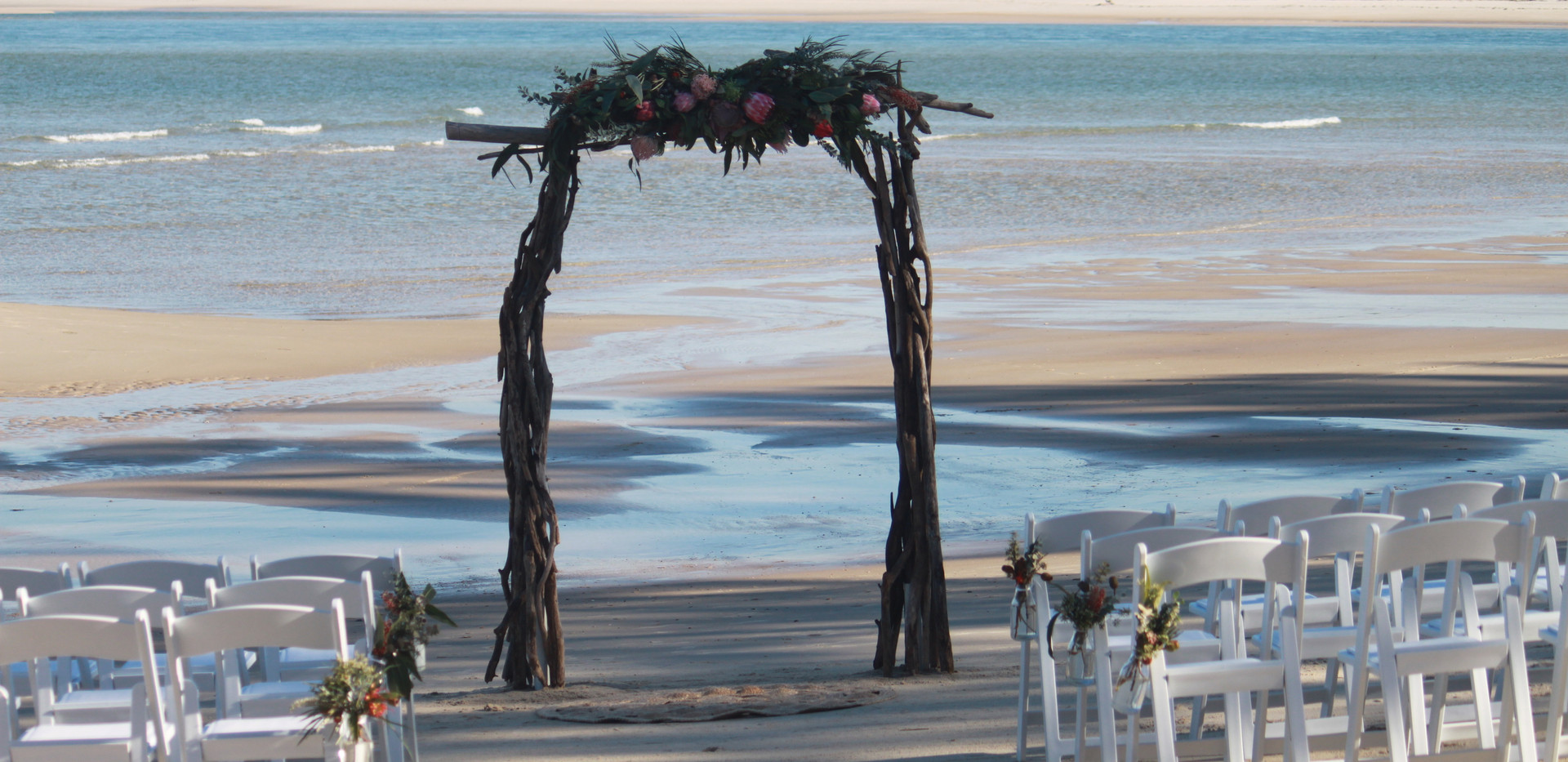 Native Driftwood Arbour