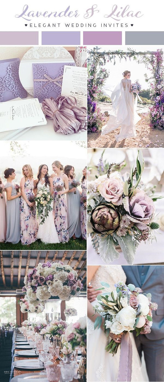2018 wedding trends and colours