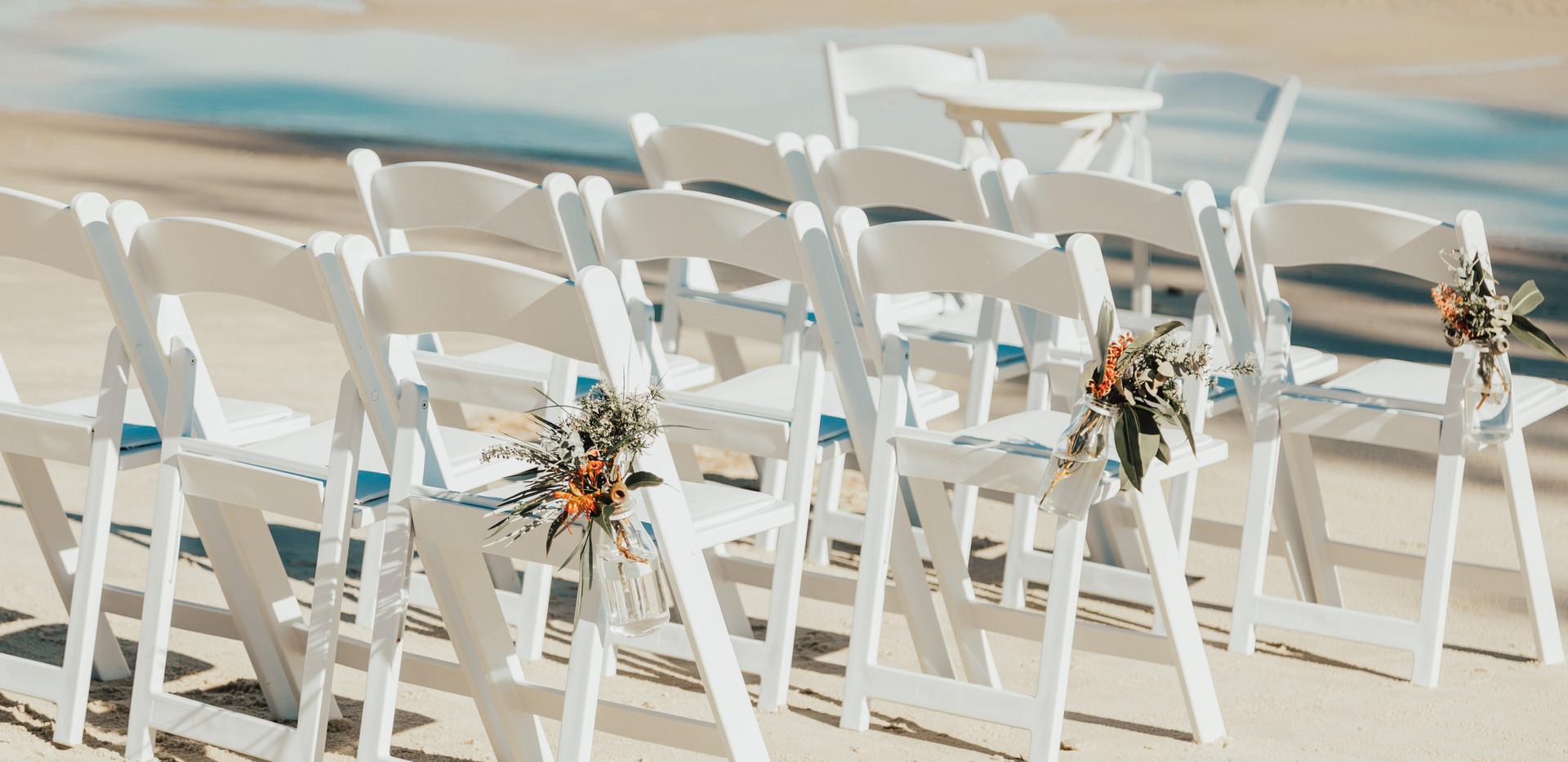 wedding chairs sunshine coast