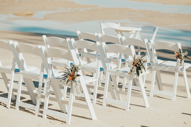wedding chairs sunshine coast