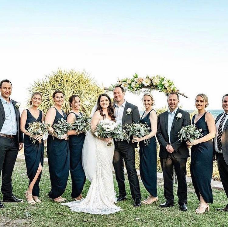 Driftwood wedding arbour