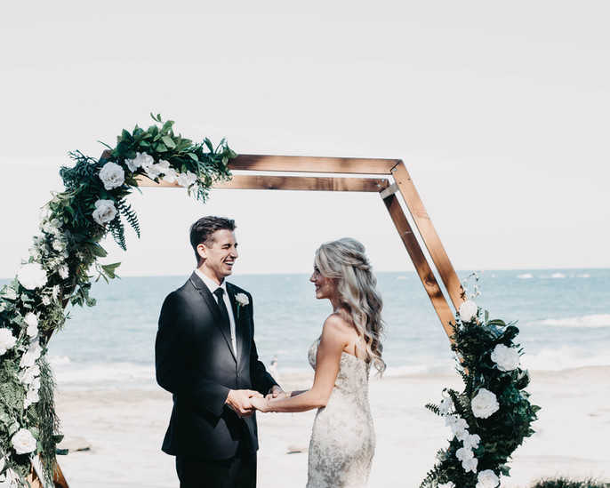 wedding arbour and arch hire sunshine coast