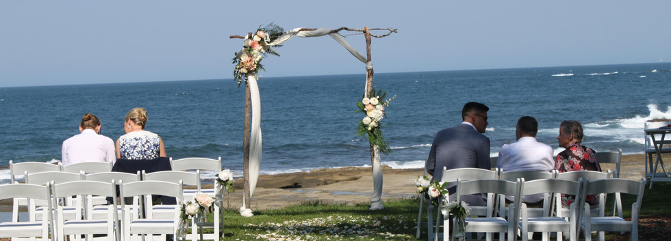 Natural beauty wedding arbour