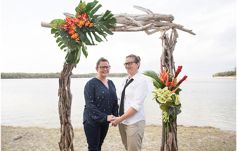 Driftwood tropics arbour wedding packages