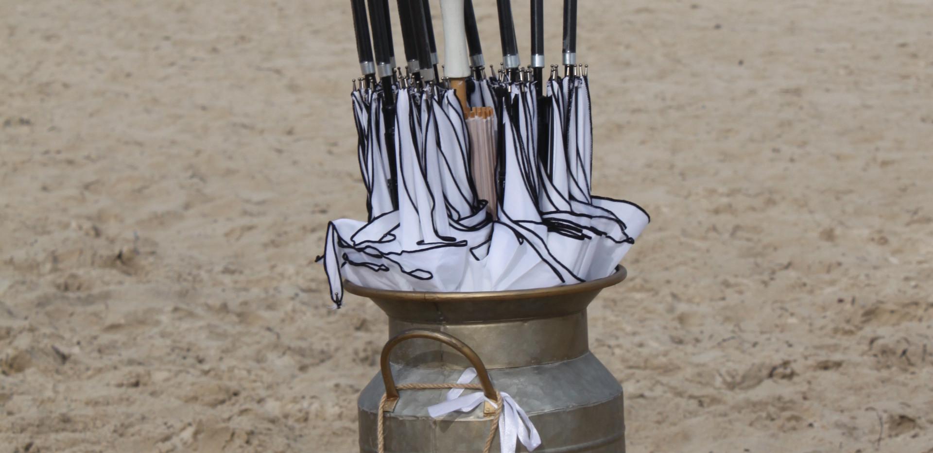 wedding parasols and umbrellas sunshine coast