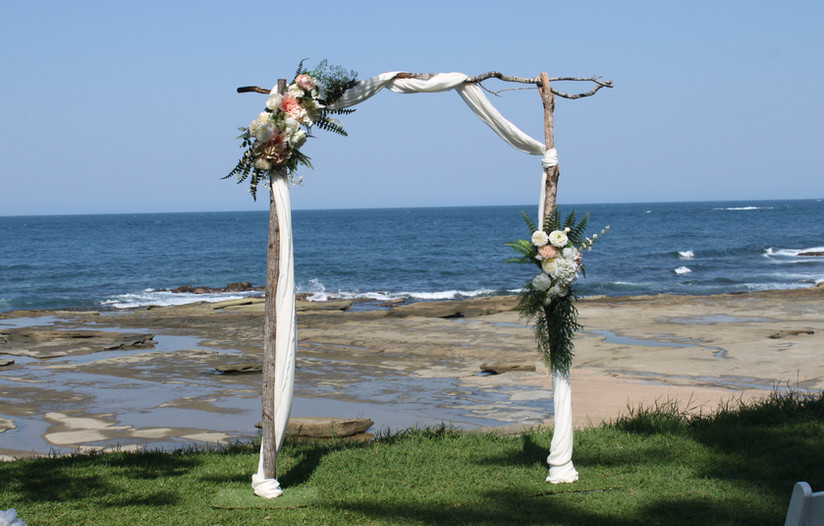 Wedding arbour and chair hire sunshine coast