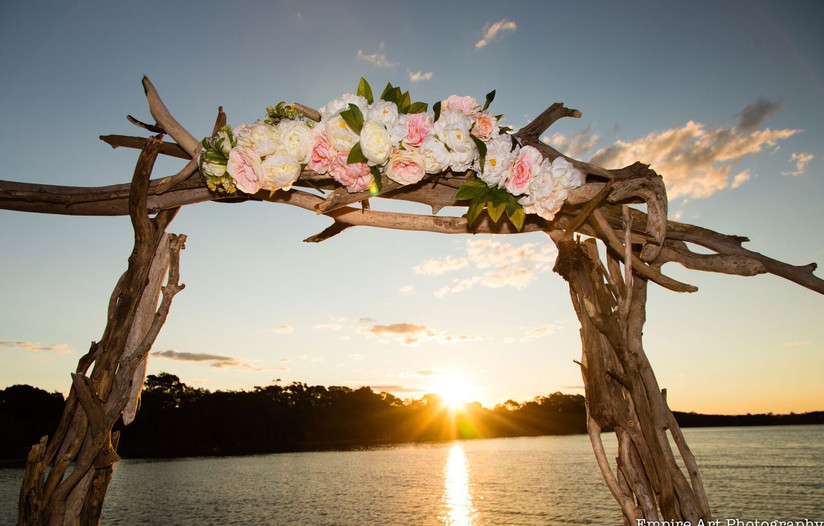 Arbour for wedding sunshine coast