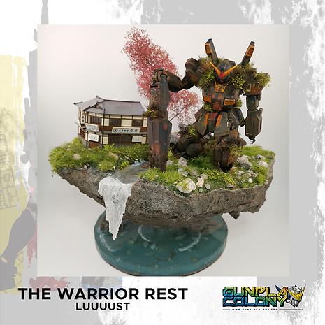The warrior rest