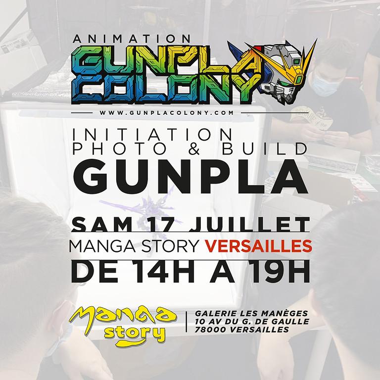 Initiation Photo et Build Gunpla
