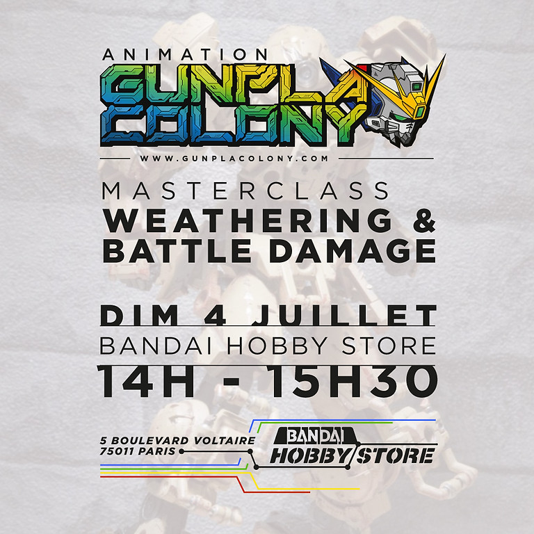 14H • Masterclass - Weathering / Battle Damage