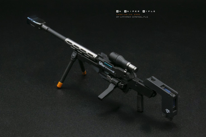 MG 1/100 - Dynames Custom GN Sniper Rifle