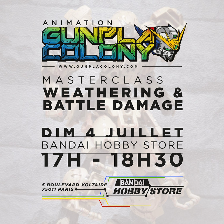 17H • Masterclass - Weathering / Battle Damage