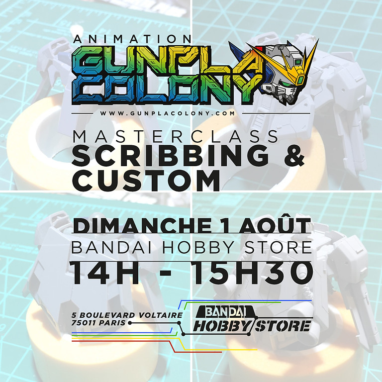 14H • Masterclass - Scribbing / Custom