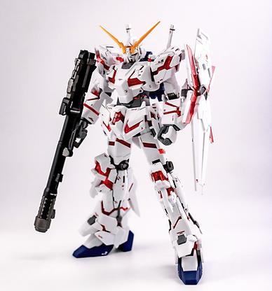 HG 1/144 - Unicorn Gundam Destroy mode