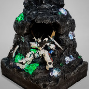 Crystal symbiosis