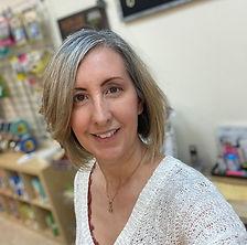 Christine in the store.jpg