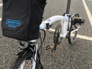 First ride, E-Brompton