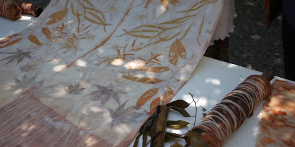 Eco Print Natural Dye Workshop, June 29 & 30