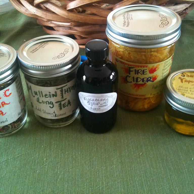 12-15 Handmade Herbal Holiday Gift Making