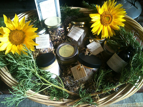 Summer Handcrafted Herbal CSA, Individual Size